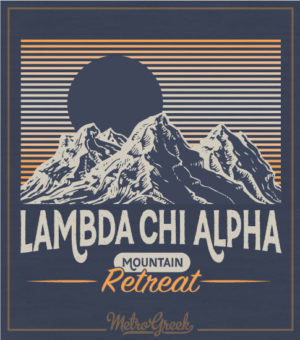 Mountain Retreat Shirt Lambda Chi Alpha