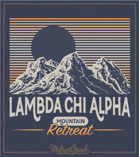 Mountain Retreat Shirt Lambda Chi Alpha