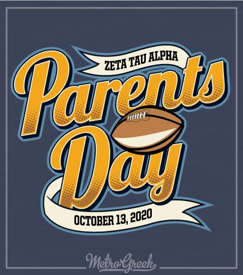 Parents Day Shirt Zeta Tau Alpha