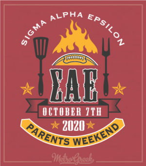Fraternity Parents BBQ Weekend Shirt