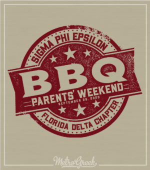 Sig Ep Parents Weekend BBQ Shirt
