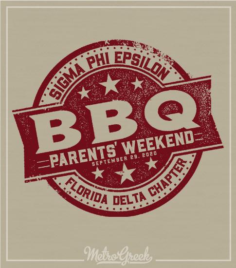 Sig Ep Parents Weekend BBQ Shirt