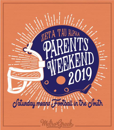 Parents Weekend Shirt Zeta Tau Alpha