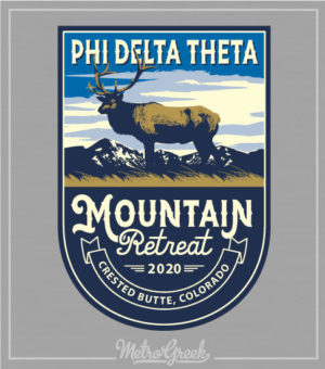 Phi Delt Fraternity Retreat Shirt