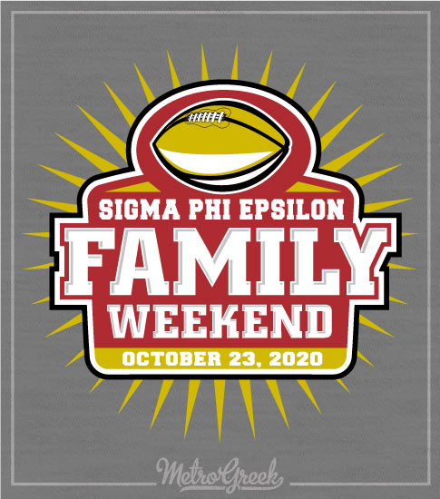 Sig Ep Family Weekend Football Shirt