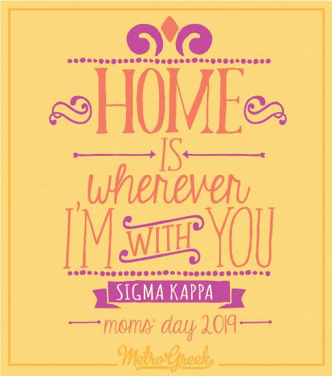 Sigma Kappa Moms Day Shirt