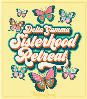 Delta Gamma Sisterhood Retreat Shirt