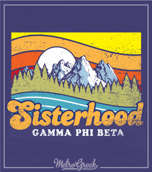 Gamma Phi Beta Sisterhood Shirt