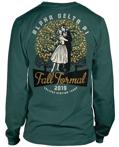 Alpha Delta Pi Fall Formal Shirt