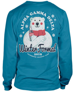 Alpha Gamma Delta Winter Formal Shirt