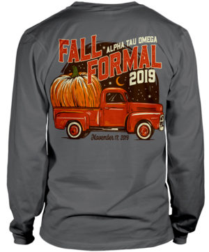 ATO Fall Formal Pumpkin Shirt