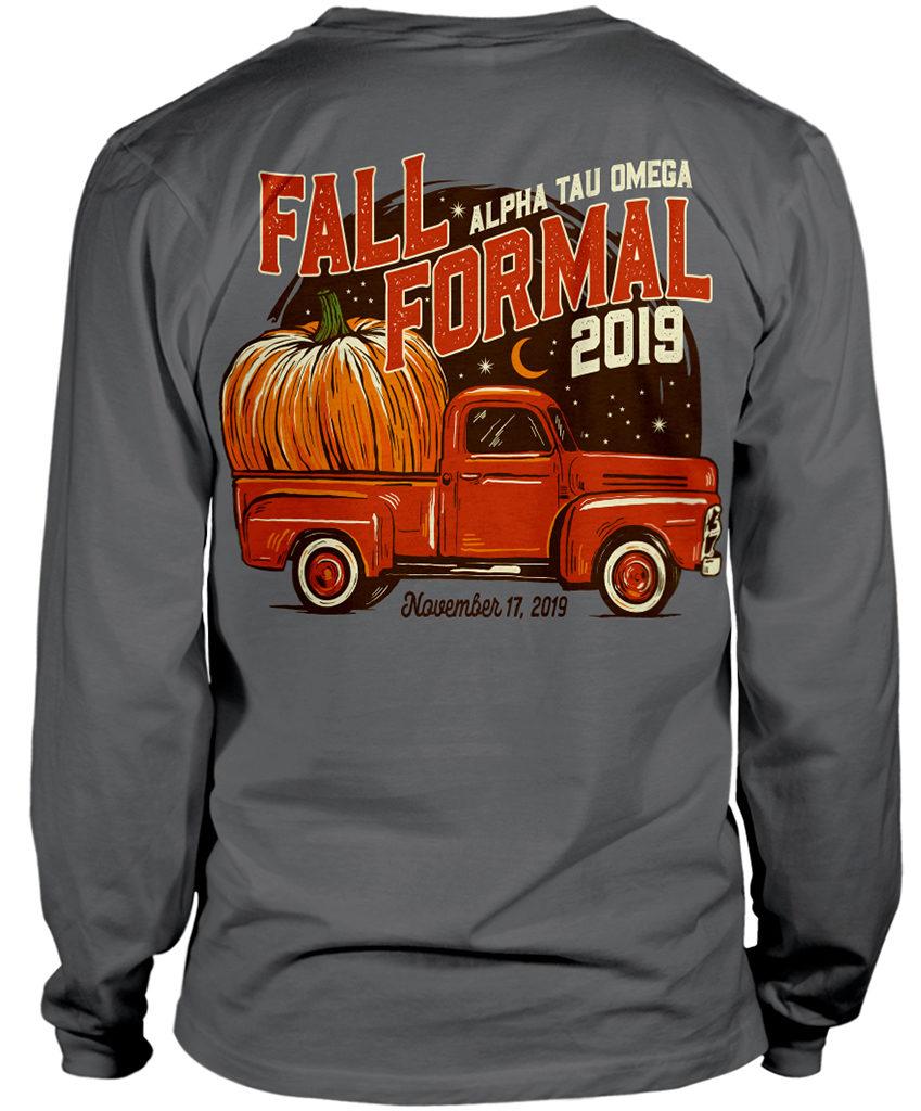 ATO Fall Formal Pumpkin Shirt