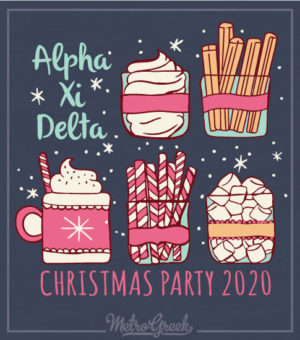 Alpha Xi Delta Christmas Shirt