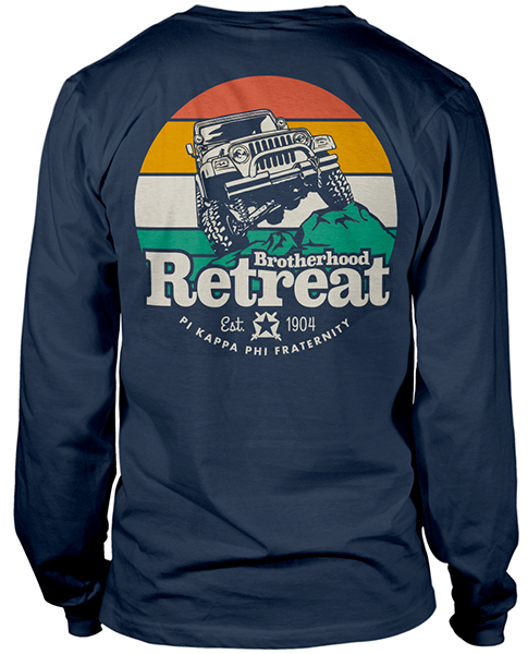 Brotherhood Retreat Shirt Pi Kapp