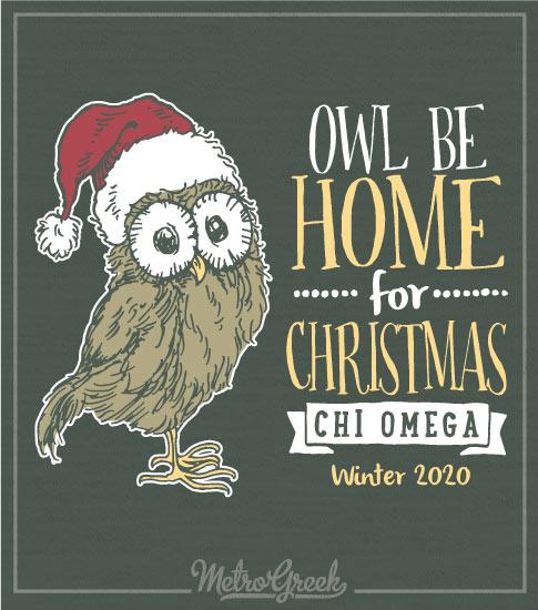 Chi Omega Christmas Party Shirt