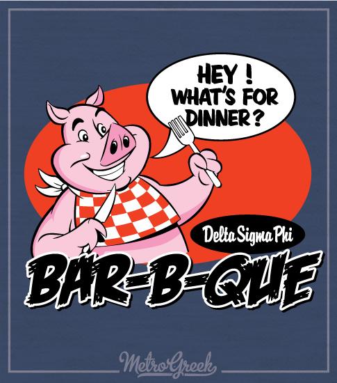 Delta Sig Barbecue Shirt