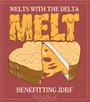 Delta Tau Delta Cheese Melt Shirt