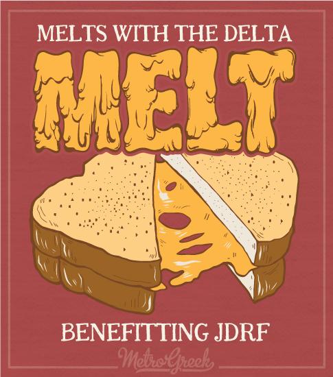 Delta Tau Delta Cheese Melt Shirt