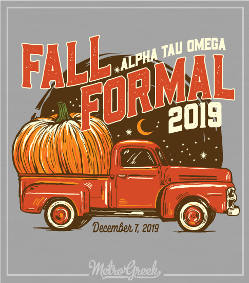 Fall Formal Shirt with Pumpkin