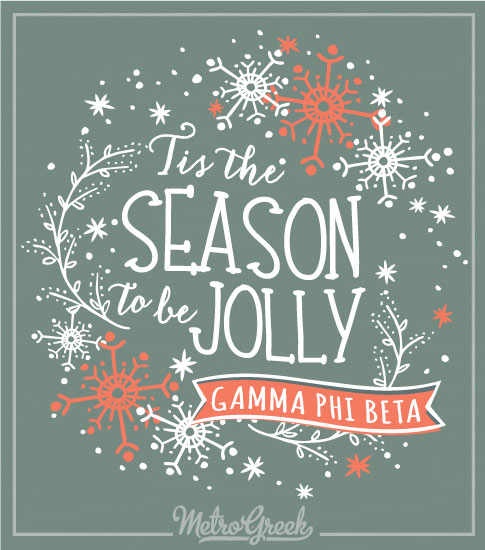 Gamma Phi Beta Christmas Shirt