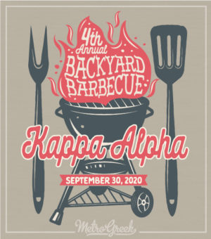 Kappa Alpha Backyard BBQ Shirt