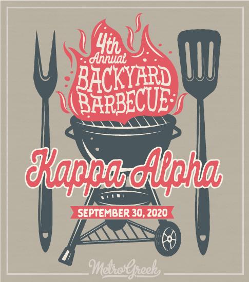 Kappa Alpha Backyard BBQ Shirt
