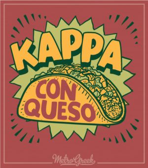 Kappa Con Queso Fundraiser Shirt