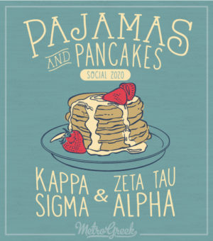 Pancake and Pajamas Social Shirt