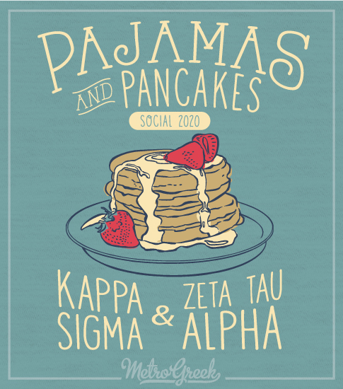 Pancake and Pajamas Social Shirt