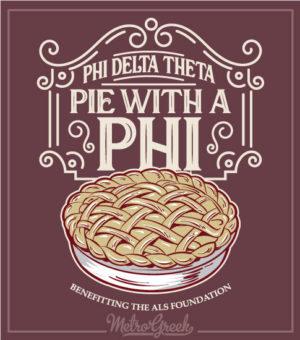 Phi Delta Theta Pi With a Phi Shirt