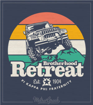 Pi Kapp Brotherhood Retreat Shirt