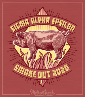 Sigma Alpha Epsilon Smoke Out Shirt