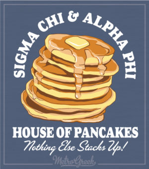 Sigma Chi Pancake Breakfast Shirt