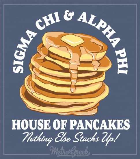 Sigma Chi Pancake Breakfast Shirt