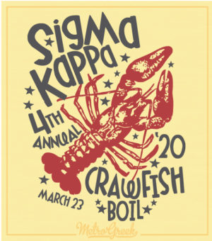 Sigma Kappa Crawfish Boil Shirt