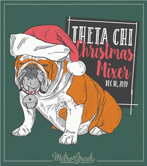 Theta Chi Christmas Party Shirt