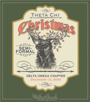 Theta Chi Christmas Party Shirt