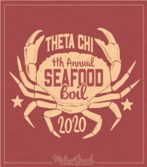 Theta Chi Seafood Boil Shirt