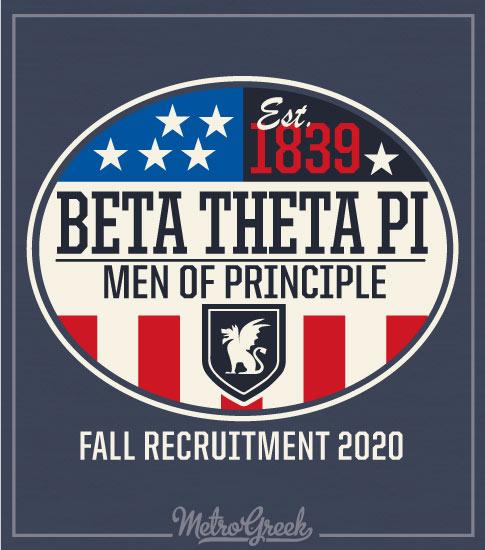 Fraternity Rush Shirt Beta Americana