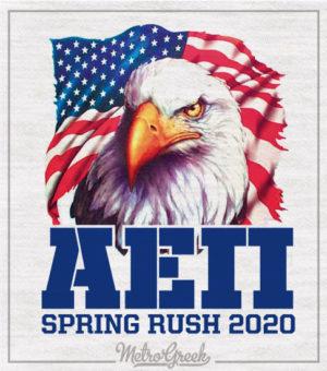 Alpha Epsilon Pi Rush Shirt Eagle