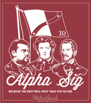 Alpha Sig Rush Shirt Founders Day
