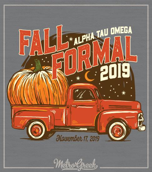 Alpha Tau Omega Fall Formal Shirt Truck