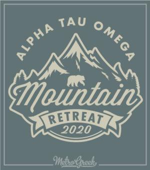 Alpha Tau Omega Mountain Retreat Shirt