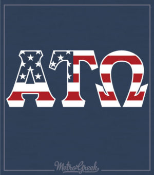 Alpha Tau Omega Rush Shirt Flag