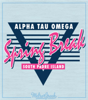 Alpha Tau Omega Spring Break Shirt