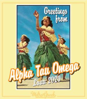 Alpha Tau Omega Luau T-shirt
