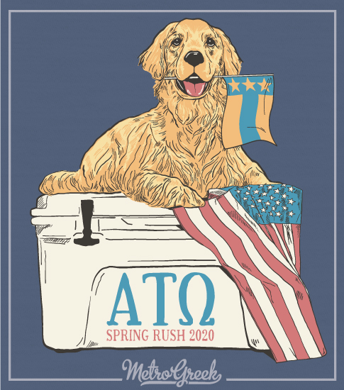 ATO Rush Shirt Golden and Cooler