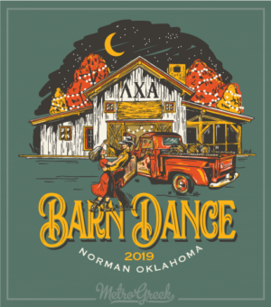 Lambda Chi Alpha Barn Dance Shirt