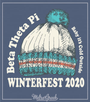 Beta Winterfest Shirt With Beanie