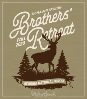 Sig Ep Brotherhood Retreat Shirt